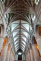 UK, United Kingdom, Great Britain, Britain, England, Europe, Gloucestershire, Gloucester, Gloucester Cathedral, Cathedral, Cathedrals, Interior