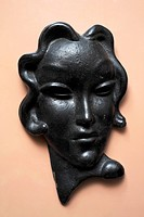 A Modern style head of a woman
