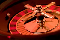 A spinning roulette wheel (thumbnail)