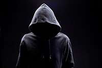 Hidden man in hooded top (thumbnail)
