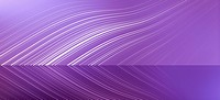 Curved lines reflected against a purple background