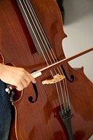 Child playing cello