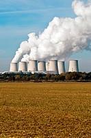 Kraftwerk Kühltürme hochkant V4