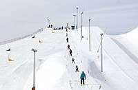 Big slalom trace