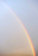 France, Marseille, Rainbow in sky