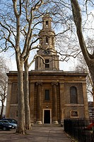 St. John the Baptist church in Hoxton