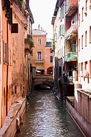Water canal in Bologna