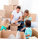 Positive family packing boxes