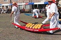 Traditional Cheese Market, Edam, Holland