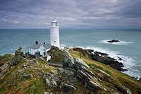Start Point Lighthouse in South Devon, England, United Kingdom, Europe