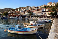Harbour view, Pythagorion, Samos, Aegean Islands, Greece