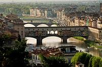 Florenz _ Blick von der Piazza Michelangelo _ Sonnenuntergang