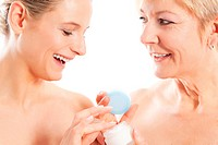 Schönheit und Körperpflege in Familie