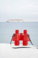 Ship and red binocular