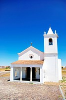 Church in Luz village, Portugal.