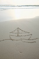 Ship in the sand