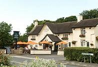 English village pub in summer