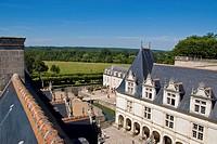 castello di villandry, villandry, valle della loira, francia