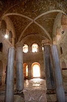 Vaulted ceilings in Chhurch of St Nicholas in Myra