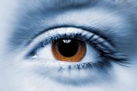 Woman´s eye.