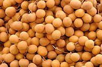 Longan fruit in Thailand has a sweet taste