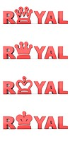 Red Word Royal _ Crowns