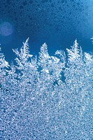 ice frost window