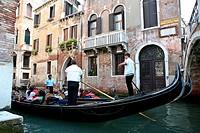 gondole, venezia, veneto, italia