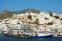 Greece, Cyclades islands, Naxos, city of Hora Naxos