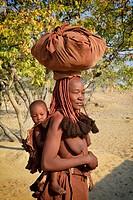 Himba tribe - Kaokoveld Kaokoland.