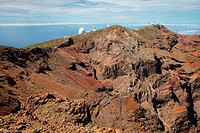 Astrophysical Observatory, Roque de los Muchachos, Caldera de Taburiente National Park, La Palma, Canary Islands, Spain