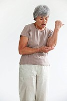ELBOW PAIN IN AN ELDERLY PERSON