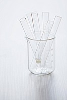 Medical still of laboratory glassware