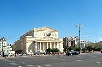 Bolshoi Theatre, Moscow, Russia, Eurasia