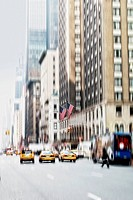 Street life at Manhattan _ New York City