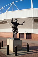 Bob Stokoe Statue Stadium of Light Sunderland England
