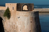 Bastion de L´Ange in the Portuguese Fortified City of Mazagan. El_Jadida, Morocco