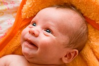 laughing baby boy