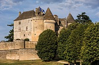 The castle of Fenelon, Sainte Mondane, Dordogne, Perigord, Aquitaine, France