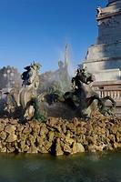Monument aux Girondins, Bordeaux, Aquitaine, France