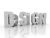 design 3d text