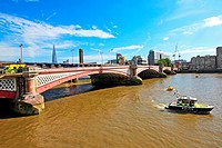 Blackfriars Bridge, London, England, UK