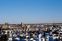 Manchester, New Hampshire Cityscape.