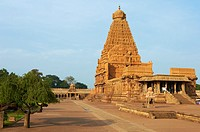 India, Tamil Nadu, Thanjavur Tanjore, Bridhadishwara temple, Unesco world heritage