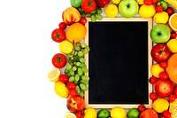 desk in fruit