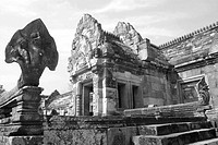 Ancient castle at Thailand.