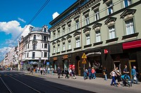 Ulica 3 Maja street central Katowice city Silesia region Poland Europe