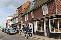 High Street, Rye, East Sussex, England, UK.
