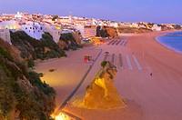 Albufeira, Praia Dos Pescadores, Algarve, Portugal, Europe.