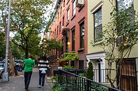 New York City, NY, USA, Brooklyn Heights, Henry Street Scenes, Housing Brooklyn
